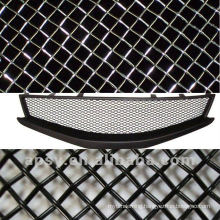 For car grill black vinyl coated Stainless Steel wire mesh