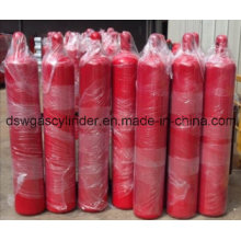 Empty Extinguisher Cylinder (CO2 kind) with Special Fire Suppression Valve and Cap 68L