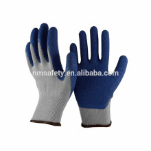 NMSAFETY 10 gauge knitted polycotton lined latex gloves