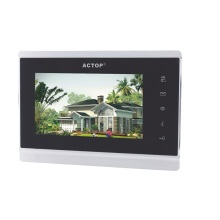 Touch screen IP video multiple intercom system