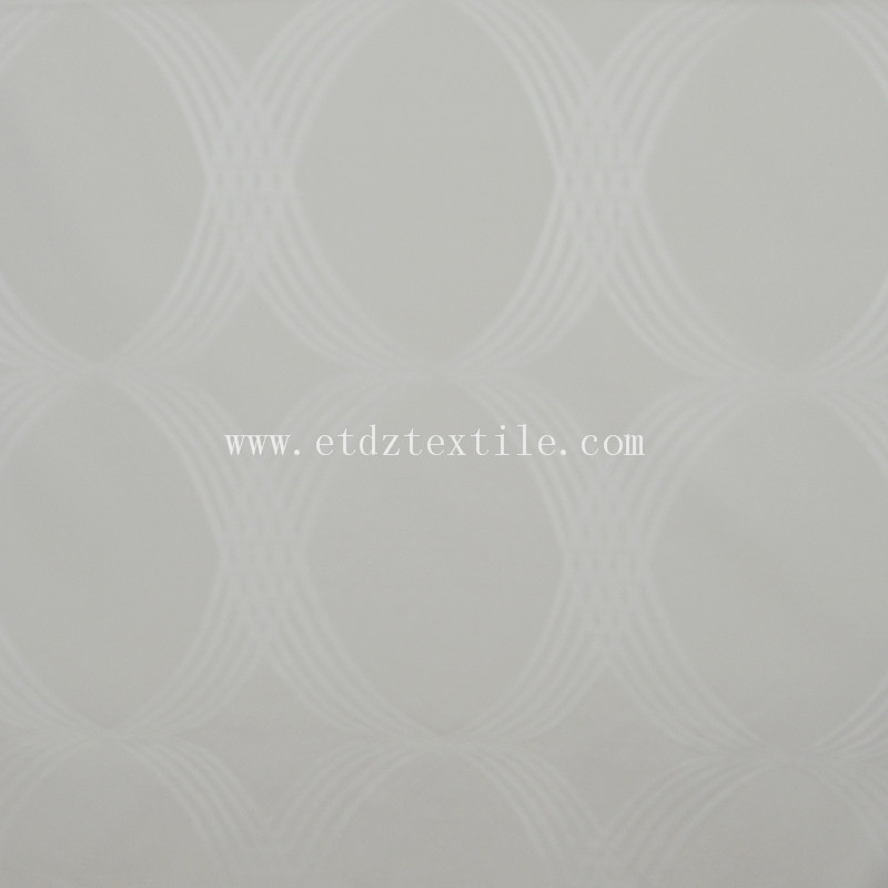 Hot Popular Jacquard Curtain Fabric WZQ202 Ivory