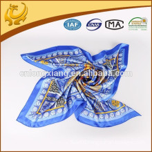advanced product new design twill silk scarves 90*90cm