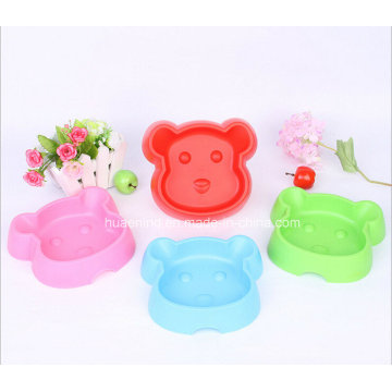 Monkey Face Shape Single Pet Bowl