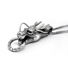 Dragon Necklace Pendant Fashion Accessories Unisex 316L Stainless Steel