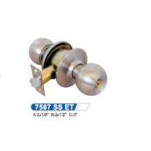 Iron Cylindrical Knob Lock 7587