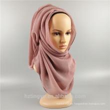2017 al por mayor hijab bufanda musulmán mujeres hijab bufanda dubai arrugas hijab plisado