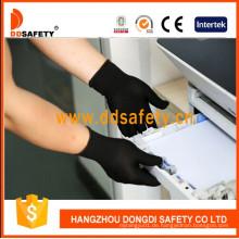 13G Schwarz Nylon Polyester Handschuhe Dch127