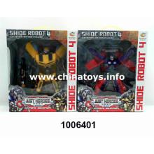 Superman de brinquedo de plástico com arma de venda quente (1006401)