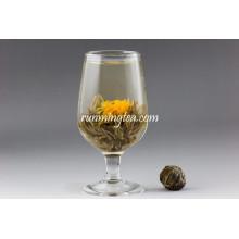 Jing Zai Yin Tang Té blanco en flor