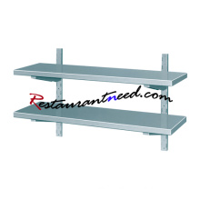 TS288 SS304 Decorative Metal Wall Shelf
