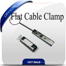 Attache de câble plat FTTH en acier inoxydable