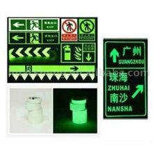 PET/PVC foto luminiscente película reflexiva para la señal de seguridad (FG301)