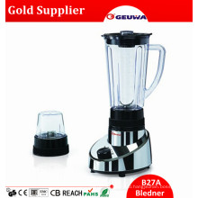 Geuwa Global Hot Sale Healthy Baby Food Blender with Dry Mill 2 in 1 for Sale with 1.25L Jar 2 in 1 B27A