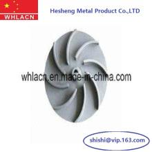 Roue centrifuge de pompe d'acier inoxydable (moulage perdu de cire)