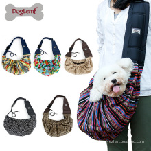 Pet Cat Sling Carrier Bags Reversible Fashion Shoulder Soft Travel Cat Bag