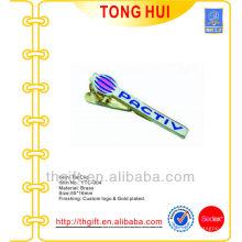 Gravierte Füllung Farben Logo Bindung Pins Metall