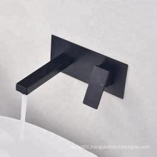 New style single handle basin tap black color bathroom basin faucet