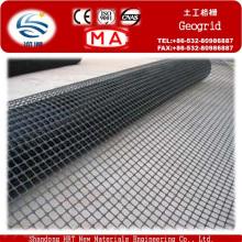 Geomalla triaxial plástica para la construcción de carreteras