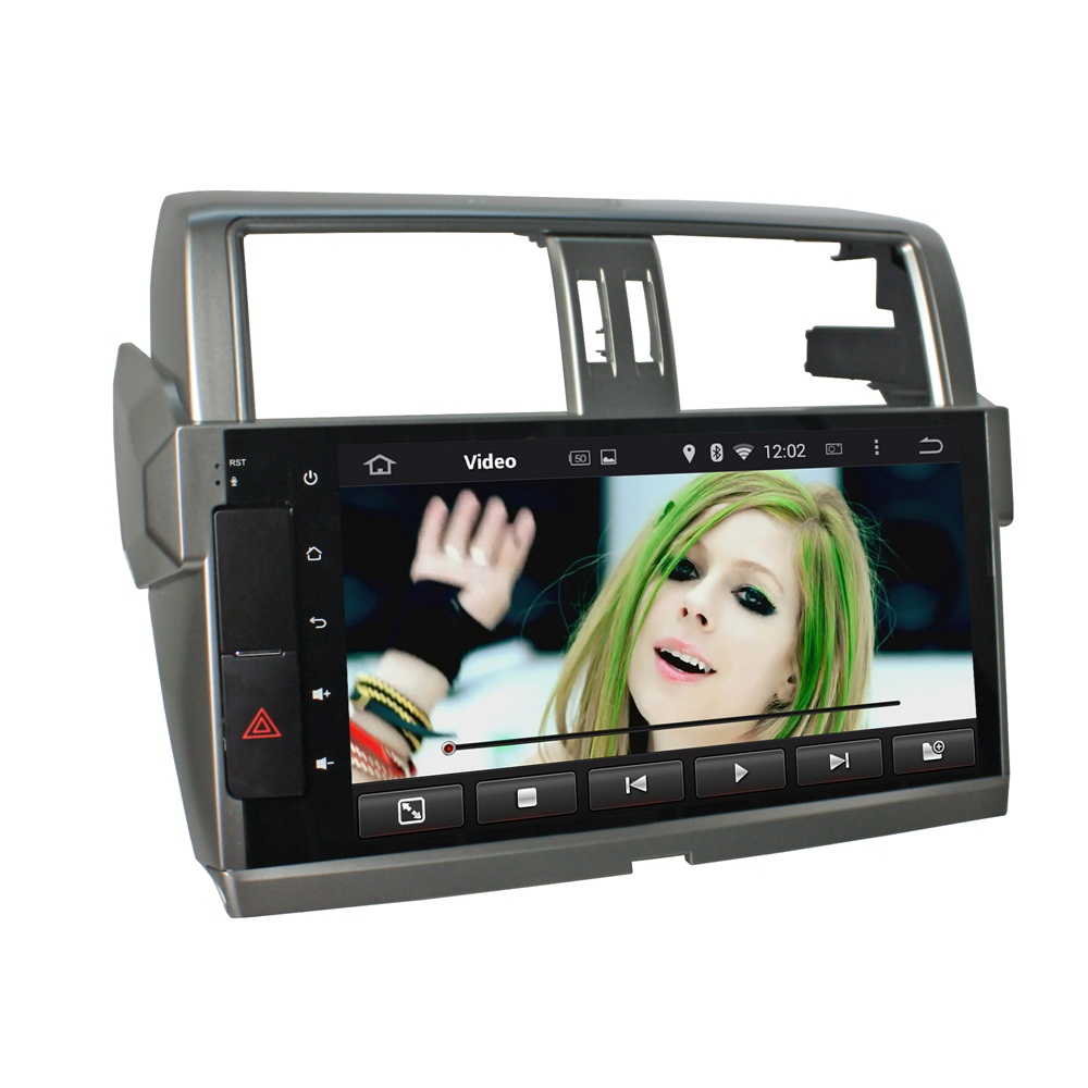 PRADO 2014-2015 decdless CAR dvd player
