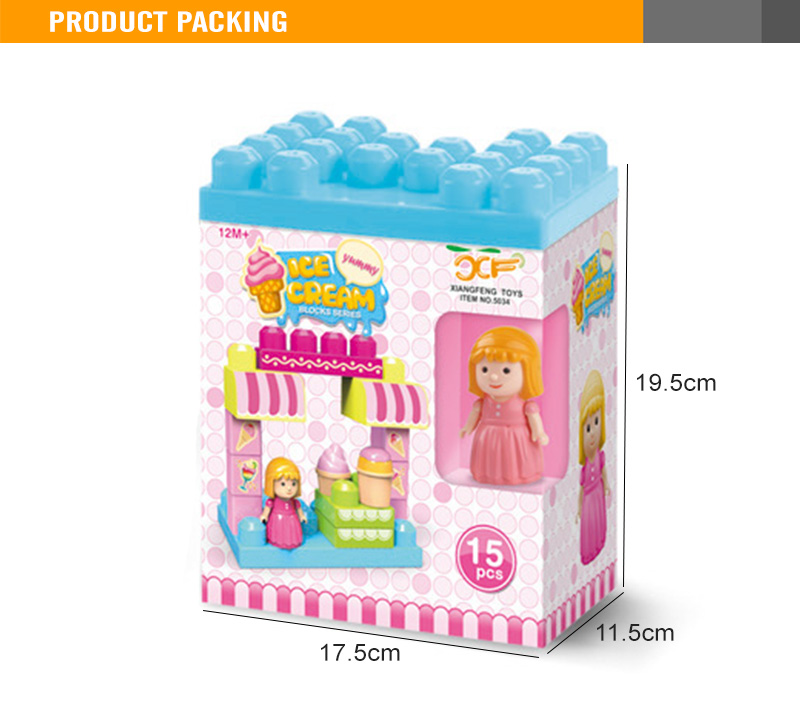 Kids Plastic Block Toy