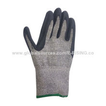 Excellent Anti-tear, Nitrile Foam Coated Gloves, 4344