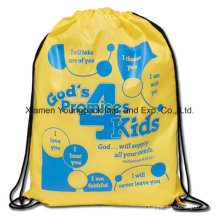 Promotional Custom Large Waterproof Ripstop Nylon Draw PP String Bag