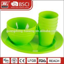 Китайский оптовый пластиковая посуда