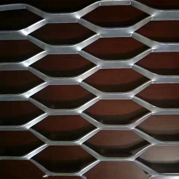 Grill Grates Dekorasi Powder Coated Expanded Metal Mesh