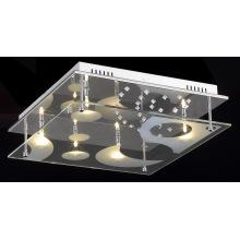 Modern Glass Cheap LED Ceiling Lamp (MX38055-5C)
