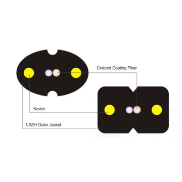 Bug Typ Drop Optisches Faserkabel