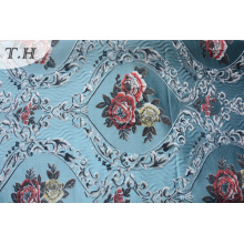 Floral Polster Jacquard Stoff ohne Chenille