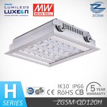 IP66 Рейтингом 120 Вт Светодиодный АЗС света с датчиком движения