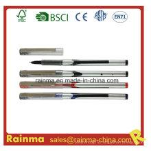 Жидкими чернилами ручка с металлическим зажимом
