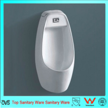 Bathroom Sanitary Wall Hung Ceramic Sensor Waterless  Urinal  for Men