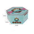 Newest Special Shape Jewelry Hexagonal Gift Box