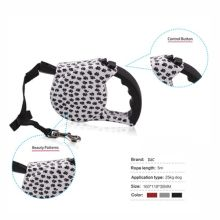 Color Printed Auto Retractable Dog Tape Leash