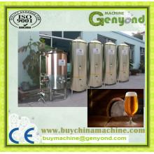 Komplette kleine Kapazitäts-Bierherstellungsmaschine