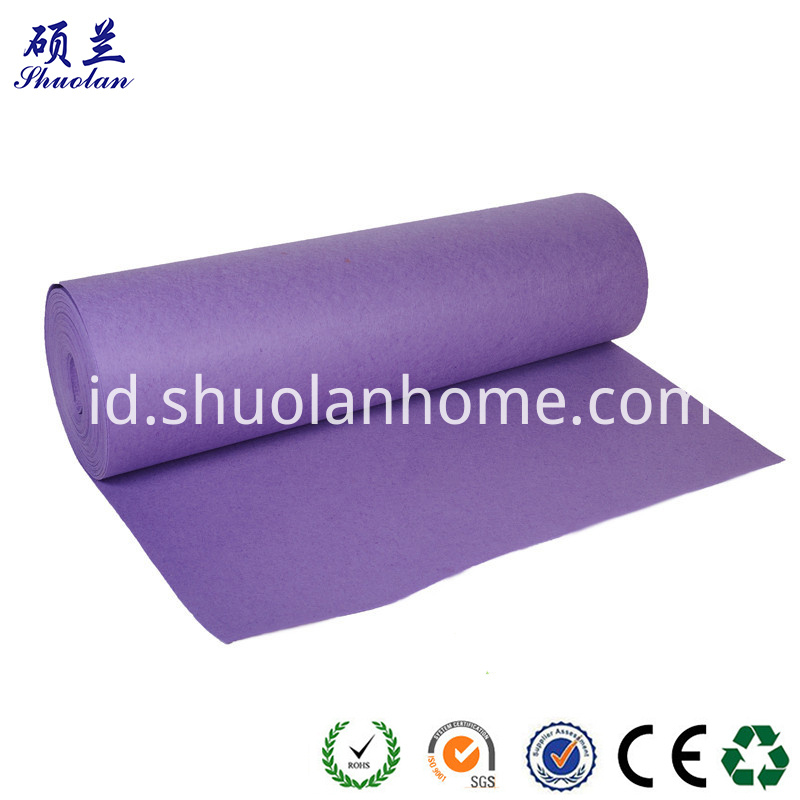 Purple Felt Fabric