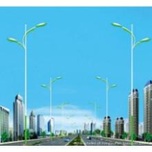 Poste de luz de rua 8m com braço duplo
