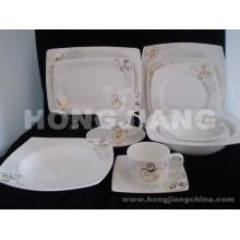 Ensemble de dîner en ossée en Chine (HJ068004)