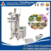 Packing grain,sugar,rice,snack,bean in plastic bag up to 500 grams vertical wrapping machine