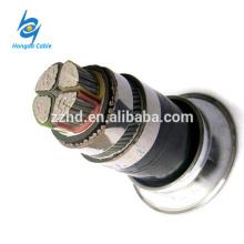 4 * 70 fil d'acier de câble / câble armé en acier de câble / câble non armé