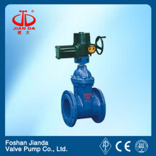 WCB elastic sealing electric gate valve