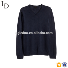 Black Vneck wool sweaters for men full sleeve hoody sweater design
