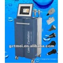 Machine à emmagasiner à cavitation sous vide avec laser multipolar rf lipo