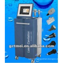 Vacuum cavitation slimming machine with multipolar rf lipo laser