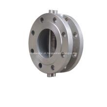 Válvula de retenção de placa Dual-flangeado