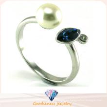 Joyería de plata de la manera del anillo de la alta calidad 925 (R10445)