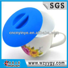 Fábrica de formulário popular do silicone personalizado copo tampa