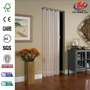 China Solid Wood Glass Inserts Interior Accordion Doors Manufacturers
